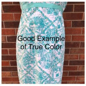 Lilly Pulitzer Dresses - Lilly Pulitzer Worth Ave Spaghetti Strap Dress 10